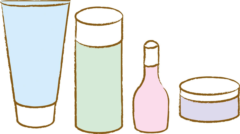 化粧品 イラスト