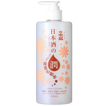日本酒のたっぷり保湿化粧水 写真
