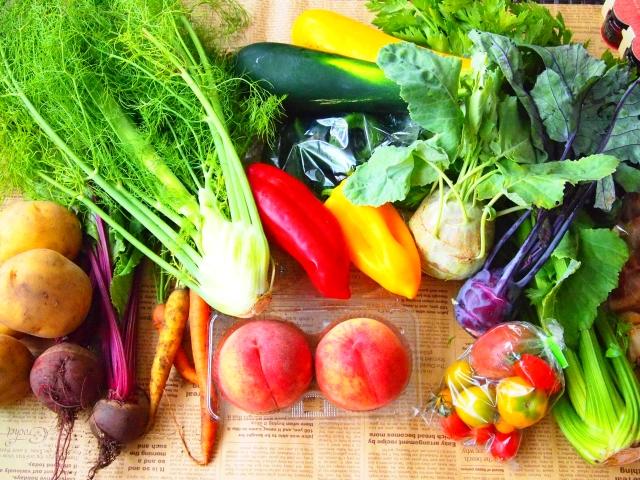 野菜と果物 写真